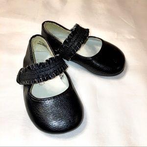 Circo Baby Girl Black Mary Jane Shoes